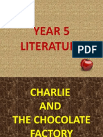 Year 5 KSSR Literature Charlie and The Chocolate Factory