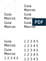 Guia Marcos