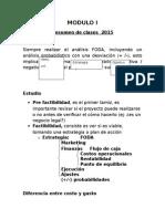 Modulo Uno 2015 II