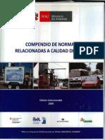 COMPENDIO DE NORMAS RELACIONADAS A LA CALIDAD DEL AIRE