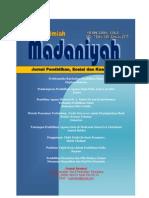 Jurnal Madaniyah Edisi VIII  Jan 2015
