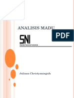 Analisis Madu