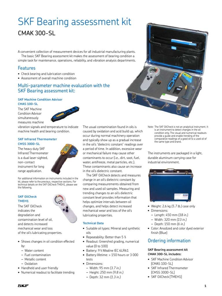 skf bearing assessment kit bearing mechanical applied and rh es scribd com skf torque specification guide 2015 skf torque specification guide 2015