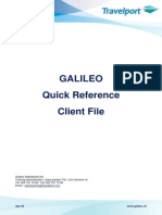 Galileo Quick Reference Client File