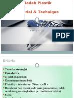 Presentasi Plastik Suture Material & Teknik