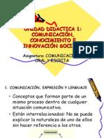 CLASE 1 - Comunicación oral y escrita