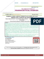 FORMULATION AND IN-VITRO EVALUATION OF FAST DISSOLVING TABLETS OF GEFITINIB Mohd.Mahboob,Shareef Amarah Khan,Mariya Khabita,Sayada Mahewish Ali,M.Suresh Babu