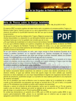 Nota de Prensa ATBRIF sobre la Huelga Indefinida