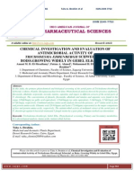 CHEMICAL INVESTIGATION AND EVALUATION OF ANTIMICROBIAL ACTIVITY OF TRICHODESMA EHRENBERGII SCHWEINF. EX BOISS.GROWING WIDELY IN GEBEL ELBA, EGYPT Amani M. D. El-Mesallamy, Fatma A. Ahmed, Mohammed H. Elhaw , Taha A. Ibrahim*