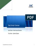 Data Domain WWT TechTalk1209