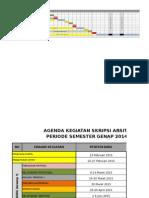 Jadwal Kegiatan Skripsi Genap 14-15 - Mhs Revisi1