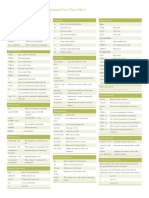 Linux Command Line Cheat Sheet