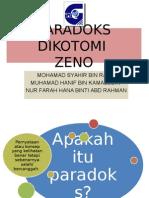 Paradoks Dikotomi Zeno (1)