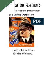 Alfred Rosenberg - Unmoral Im Talmud - 1943