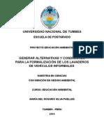 Proyecto Educativo Diego