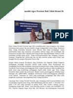Pasar Lelang Komoditi Agro Provinsi Bali Telah Resmi Di Revitalisasi