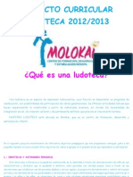 Proyecto Curricular Ludoteca 2012 Word