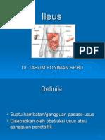 ILEUS DR TASLIM.ppt