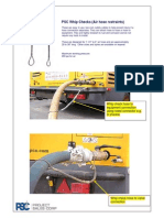 PSC Whipchecks and Air Hose Safety