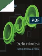 Processo Selezione Materiali_protoLabs