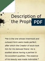 Description of the Prophet
