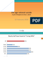 Old Age Rational Suicide