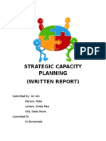 Strategic Capacity Planning intro