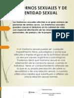 Trastornos Sexuales y de Identidad Sexual