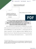 Amgen Inc. v. F. Hoffmann-LaRoche LTD et al - Document No. 1251