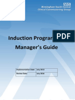 Induction Programme Manager's Guide