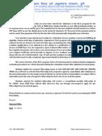PhD Offer Letter Fall 2015