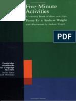 Penny Ur, Andrew Wright-Five-Minute Activities_ a Resource Book of Short Activities (Cambridge Handbooks for Language Teachers) (1992)