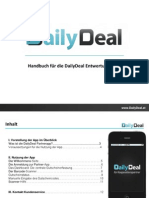 DailyDeal Handbuch Partner App At