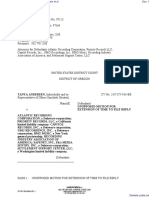 Andersen v. Atlantic Recording Corporation et al - Document No. 19