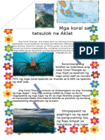 Mga Koral Sa Tatsulok Na Akla1
