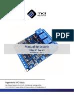 Manual de Usuario XBee IO Pro V2
