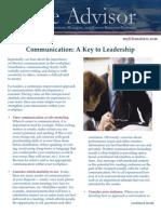 LifeMatters Leadership Communication 2014