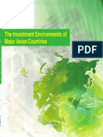 The Investment Environments of Major Asian Countries