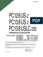 Komatsu PC128UU-2 Shop Manual pdf | Screw | Fahrenheit