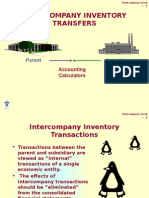 Intercompany Inventory Transfers