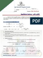 139835757 004 Equilibrio Ionicos 2º Ano