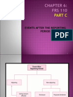 Events after the reporting period(MFRS)