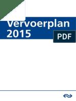 Ns Vervoerplan 2015