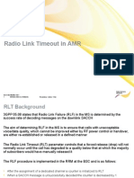 Radio Link Timeout in AMR