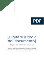 Redazione Documento