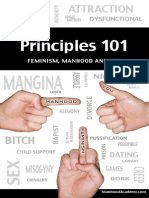 Principles 101 Feminism Manhood and You