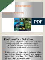 Lu1 Stf1053 Biodiversity - Introduction