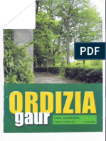 oiangu ordizia gaur euskara
