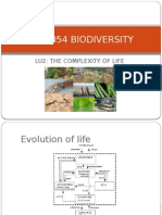 Lu2 Stf1053 Biodiversity - The Complexity of Life
