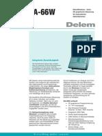 Leaflet Delem DA-66W DU